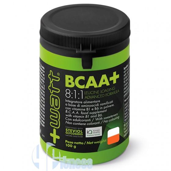 +Watt Bcaa+ 8:1:1 Polvere Aminoacidi Ramificati