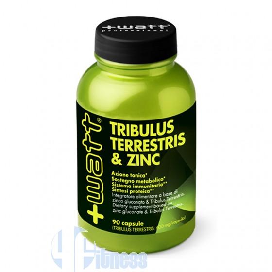 +Watt Tribulus Terrestris & Zinc Stimolanti ed Ergogenici