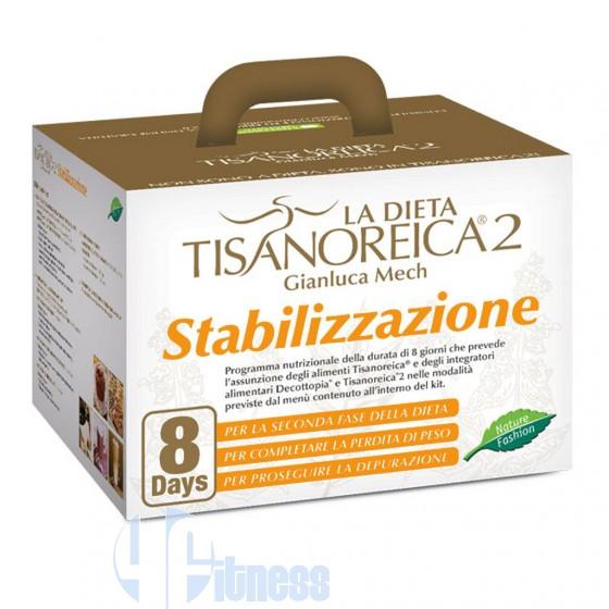 Tisanoreica Kit Stabilizzazione Termogenici e Depurativi Naturali