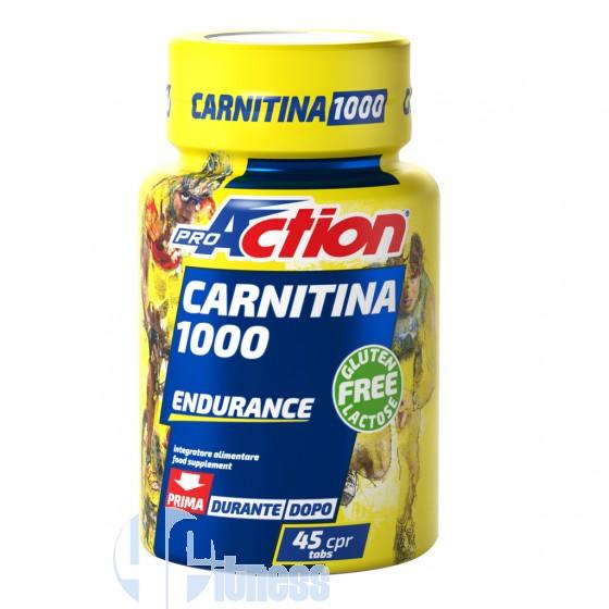 ProAction Carnitina 1000 Termogenici Energetici