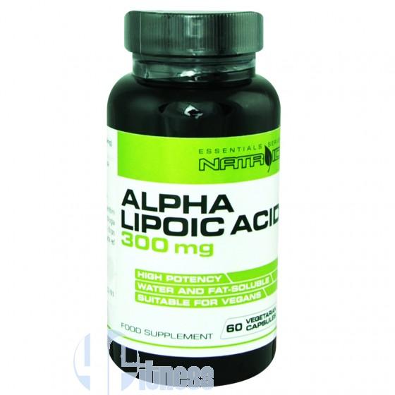 Natroid Alpha Lipoic Acid 300mg Termogenico senza Caffeina