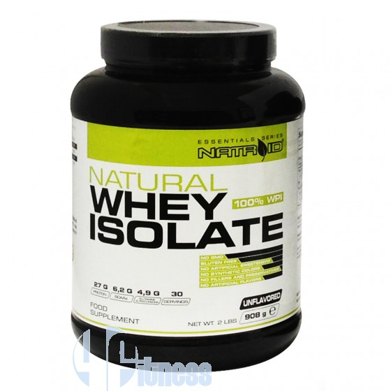 Natroid Natural Whey Isolate Proteine del Latte Isolate