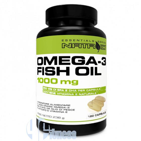Natroid Omega-3 Fish Oil Acidi Grassi Essenziali
