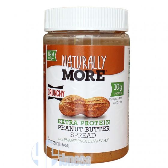 Power Butter Naturally More Crunchy Burro di Arachidi Proteico