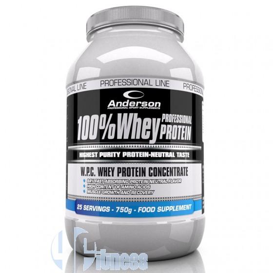 Anderson 100% Whey Protein Proteine del Latte