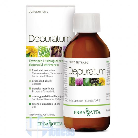 Erba Vita Depuratum Concentrato Depurativi Naturali