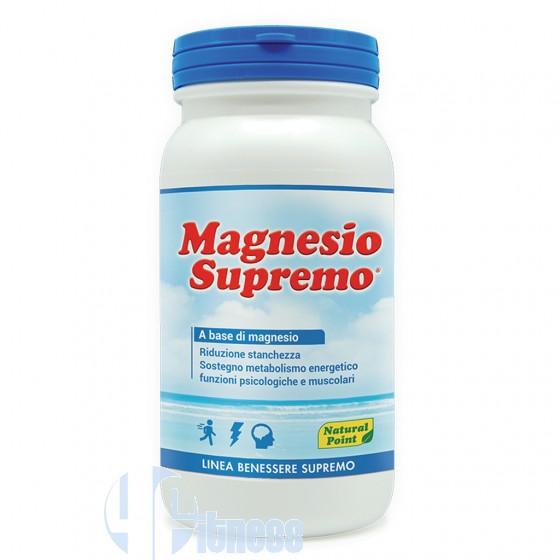 Natural Point Magnesio Supremo Solubile Vitamine e Minerali
