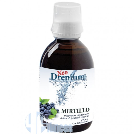 NATURAL PROJECT DRENIUM MIRTILLO 490 ML