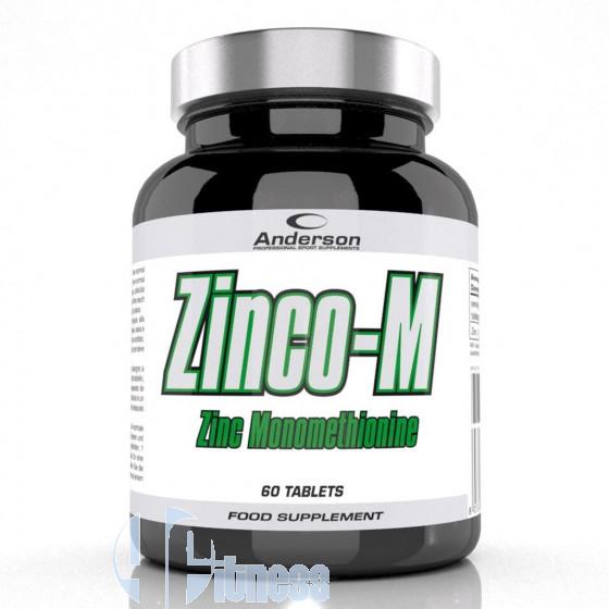 Anderson Zinco-M Integratore di Zinco