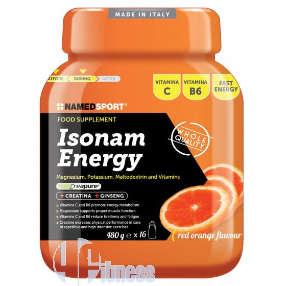 Named Isonam Energy Integratore Energetico