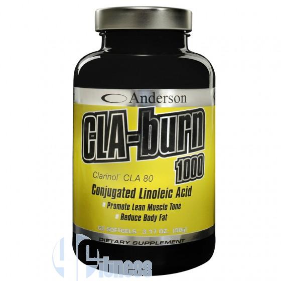 Anderson Cla Burn 1000 Acido Linoleico Coniugato