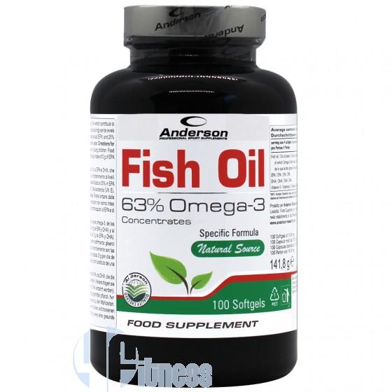 Anderson Fish Oil Acidi Grassi e Omega-3