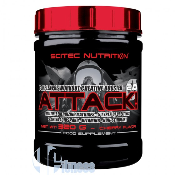 Scitec Nutrition Attack 2.0 Pre-Workout