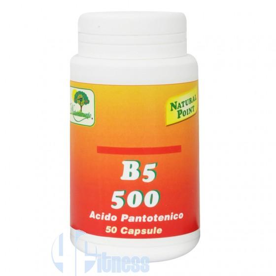 B5-500 ACIDO PANTOTENICO 50 CPS