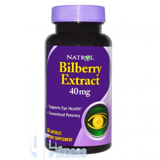 Natrol Bilberry Extract Antiossidante Naturale