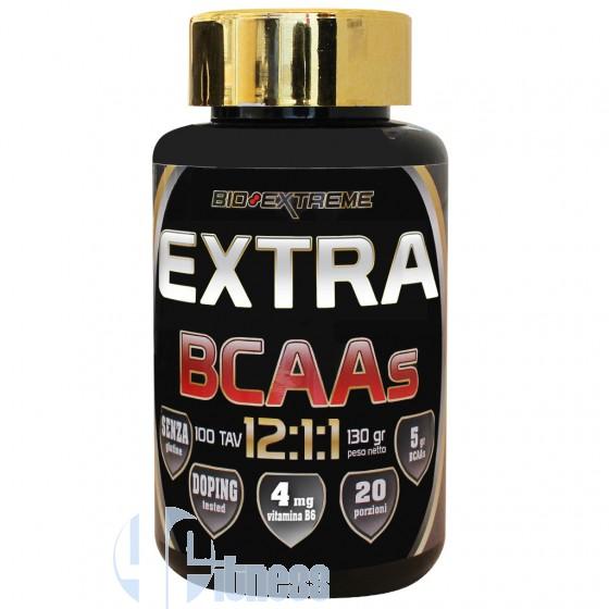 Bio Extreme Extra Bcaas 12:1:1 Aminoacidi a Catena Ramificata