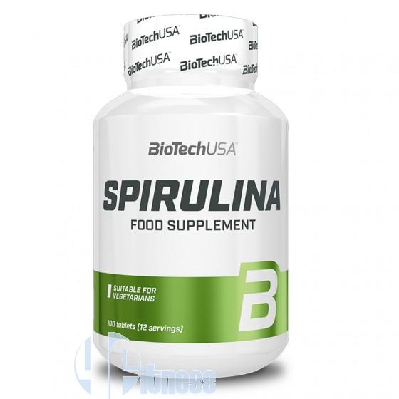 Biotech Usa Spirulina Prodotti Erboristici