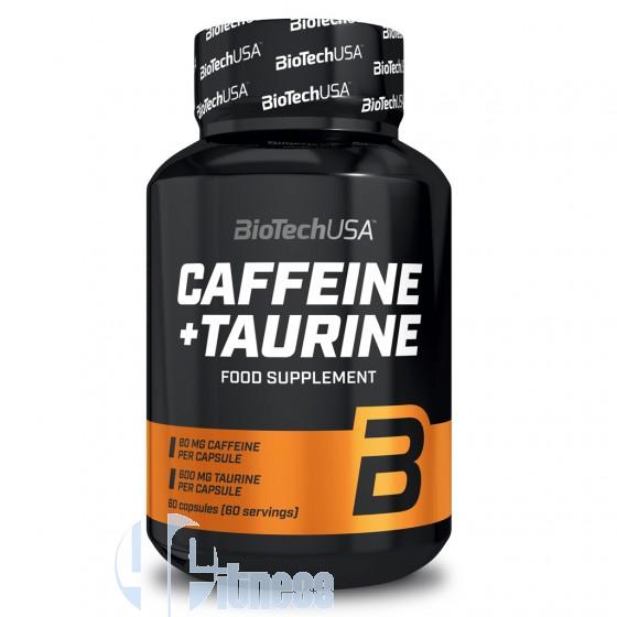 Biotech Usa Caffeine+Taurine Stimolanti ed Ergogenici