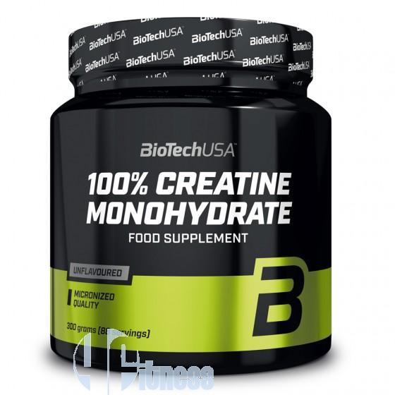 Biotech Usa 100% Creatine Monohydrate Creatina Pura