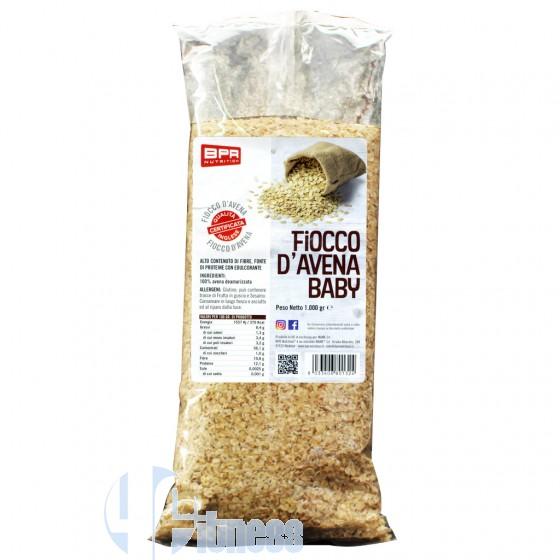Bpr Nutrition Fiocco d'Avena Baby Cereali e Fibre