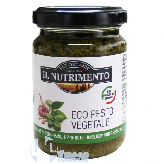 IL NUTRIMENTO ECO PESTO VEGETALE 130 GR