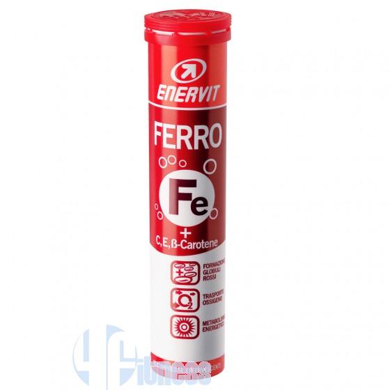 Enervit Ferro + Vitamina C ed E Vitamine e Minerali