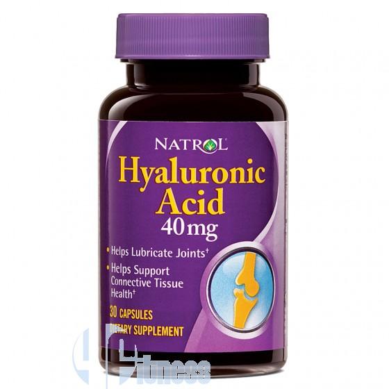 NATROL HYALURONIC ACID 30 CPS
