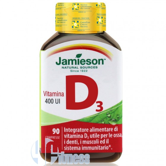 Jamieson Vitamina D Vitamine Minerali Antiossidanti