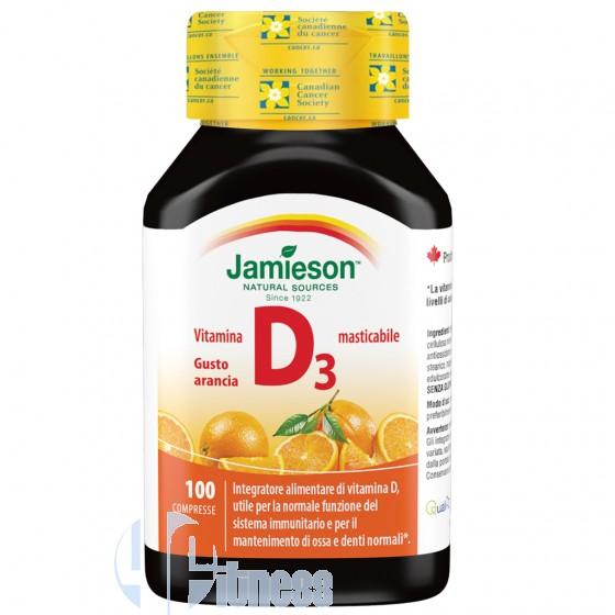 Jamieson Vitamina D3 Masticabile Vitamine Minerali Antiossidanti