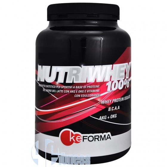 Keforma Nutriwhey 100% Proteine del Siero di Latte