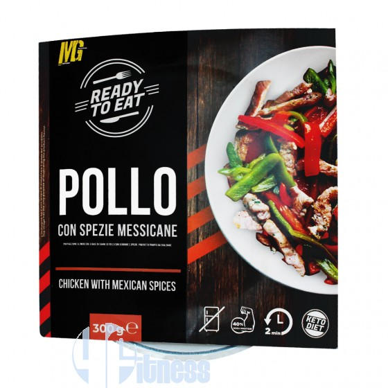 Mg Food Ready to Eat Pollo con Spezie Messicane Pasti Proteici
