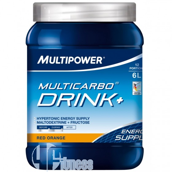 Multipower Multicarbo Drink+ Maltodestrine