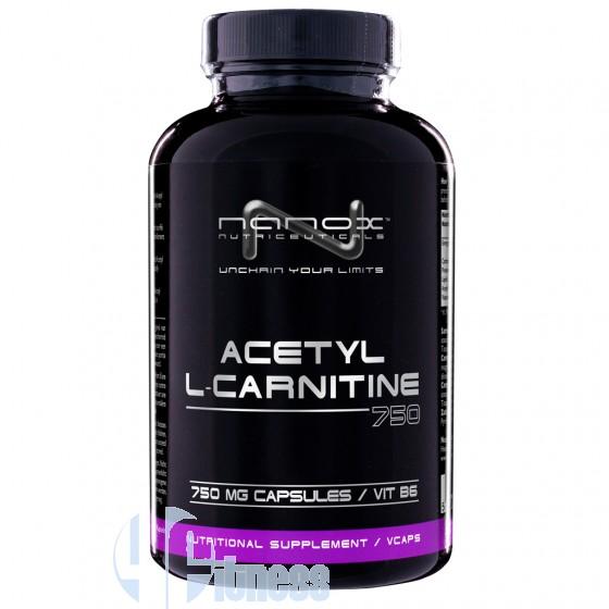 Nanox Acetyl L-Carnitine 750 mg Termogenici Senza Caffeina