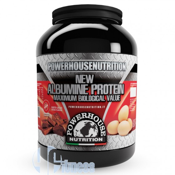 Power House New Albumine Protein Proteine dell'Uovo
