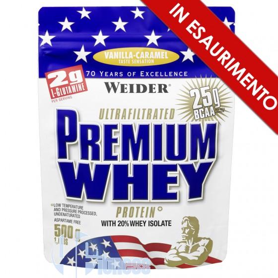 Weider Integratori Premium Whey Protein Proteine Siero di Latte
