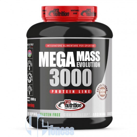 Pro Nutrition MegaMass Evolution 3000 Gainer Proteico