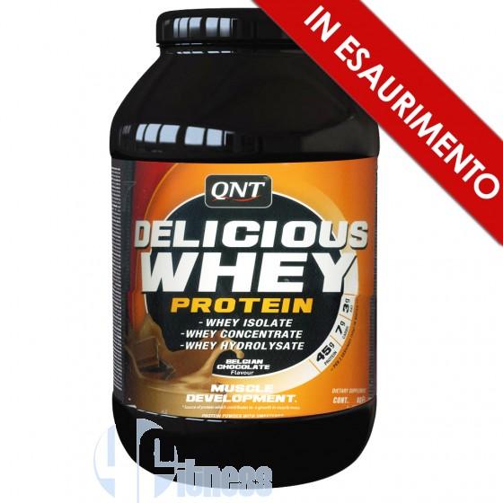 Qnt Delicious Whey Protein Proteine del Siero di Latte