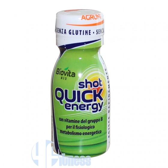 Biovita Med Shot Quick Energy Energetico con Caffeina