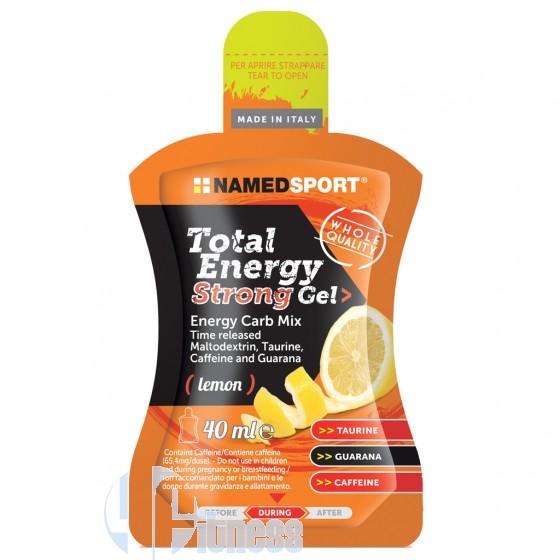 Named Total Energy Strong Gel Energetico