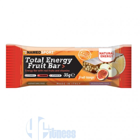 Named Total Energy Fruit Bar Barretta Energetica