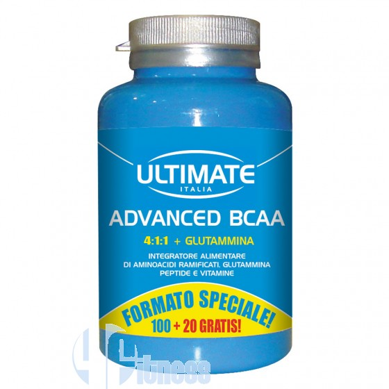 Ultimate Italia Advanced Bcaa Aminoacidi e Glutammina