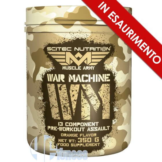 Muscle Army War Machine Pre-Workout