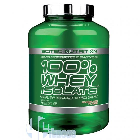 Scitec Nutrition 100% Whey Isolate Proteine Isolate e Idrolizzate