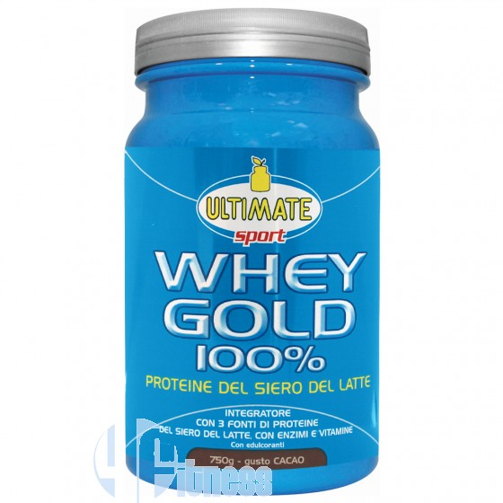 Ultimate Italia Whey Gold 100% Proteine del Siero di Latte