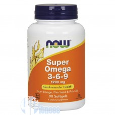 NOW FOODS SUPER OMEGA 3-6-9 90 PERLE