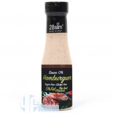 2BSLIM SAUCE 0% HAMBURGUER 350 ML