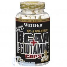 WEIDER BCAA+L-GLUTAMINE CAPS 180 CPS