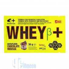 4 PLUS WHEY+ BETA 30 GR