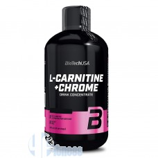BIOTECH USA L-CARNITINE+CHROME LIQUID 500 ML
