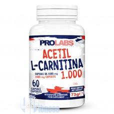 PROLABS ACETIL L-CARNITINA 1000 60 CPS